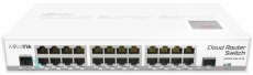 MikroTik Cloud Router Switch 125-24G-1S-IN (Desktop)
