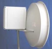 29 dBi Parabolspiegel dual-polarity (DuplEX, SX, RP-SMA, Compartment)