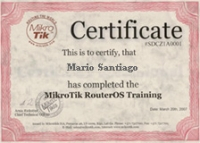 MikroTik MTCSE Training (09/2020)
