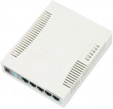 MikroTik RouterBOARD RB260GSP (PoE Out)
