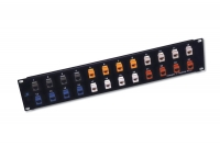 Modulares Patch Panel, 16 Port