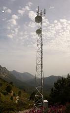 Freistehender Gittermast (T1000, 28m)