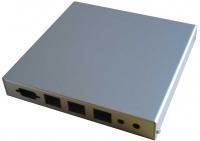 PC-Engines Indoor Gehäuse  (3x LAN, 1x SMA)