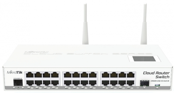Mikrotik Cloud Router Switch 125 24g 1s 2hnd In Wlan