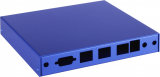 PC-Engines Indoor Gehäuse  (3x LAN, 2x SMA, 1x USB)