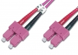 LWL Patchkabel, MM, 1m SC/SC
