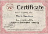 MikroTik MTCIPv6E Training (09/2018)