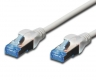 Patchkabel Cat 5e SF-UTP 0,5m grau
