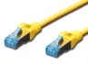 CAT 5e SF-UTP patch cable 0.5m yellow