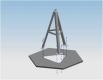 Modulares Aluminiumfundament (12/8m)