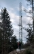 Freistehender Gittermast (T500, 12m)